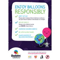 Qualatex A6 Environmental Care Cards 50pk