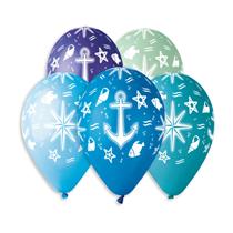 "Under The Sea Marine 13"" Latex Balloons 50pk"