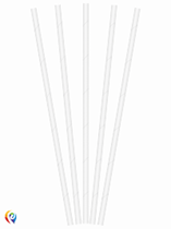Paper Straws 19.5cm 20pk