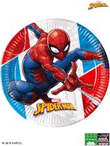 Marvel Spider-Man 23cm Paper Plates 8pk