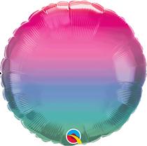 "Jewel Ombre 18"" Foil Balloon (Pkgd)"
