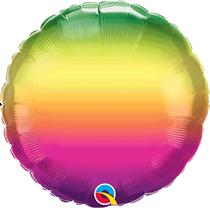 "Vibrant Ombre 18"" Foil Balloon (Pkgd)"