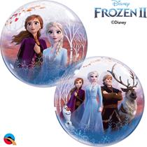 """Disney Frozen 2 Elsa Anna 22"""" Bubble Balloon"""