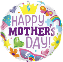 """Happy Mother's Day 18"""" Foil Balloon"""