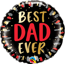 "Best Dad Ever 18"" Foil Balloon"