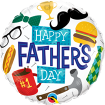 """Happy Father's Day 18"""" Foil Balloon"""