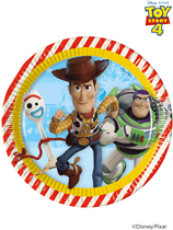 Disney Toy Story 4 Paper 23cm Plates 8pk