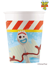 Toy Story 4 Paper 200ml Cups 8pk