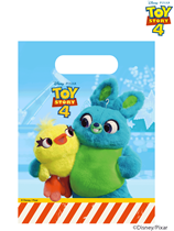 Toy Story 4 Plastic Party Bags 6pk