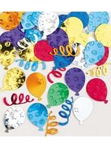 Embossed Multi-Coloured Balloon Confetti 14g