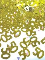 50th Golden Anniversary Confetti 14g