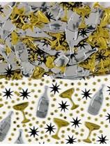 Metallic Champagne Confetti