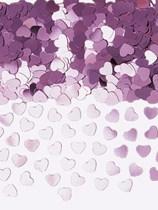 Sparkle Hearts Light Pink Metallic Confetti 14g