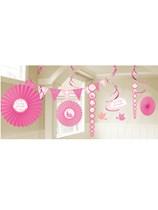 1st Holy Communion Pink Decoration Kit - 18 Piece