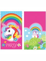 Unicorn Party Invitations & Envelopes 8pk