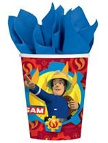 Fireman Sam Paper Cups 8pk