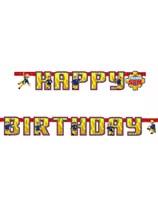 Fireman Sam Birthday Jointed Banner