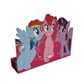 My Little Pony Stand Up Invitations and Envelopes 8pk