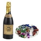 Multi Coloured Champagne Bottle Confetti Popper 33cm