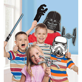 Star Wars Photo Booth Kit Props 10pce