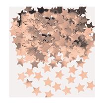 Rose Gold Star Shaped Confetti 14g