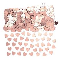 Rose Gold Hearts Metallic Confetti 14g