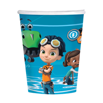 Rusty Rivets Party Paper Cups 8pk