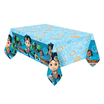Rusty Rivets Party Plastic Tablecover 1.8 x 1.2M