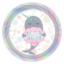Narwhal Party 23cm Paper Plates 23cm