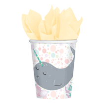 Narwhal Party Paper Cups 8pk