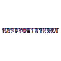Lego Movie Happy Birthday Letter Banner 1.6M