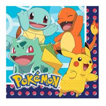Pokemon Party Lunch Napkins 16pk