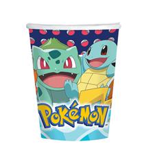 Pokemon Paper Cups 8pk