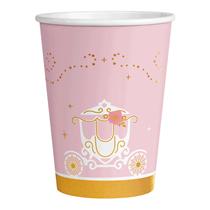 Swan Princess Party 250ml Paper Cups 8pk