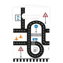 On The Road Paper Party Bags 8pk