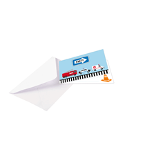 On The Road Party Invitations & Envelopes 8pk