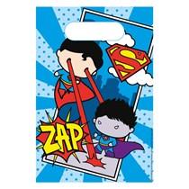 Justice League Paper Party Bags 8pk