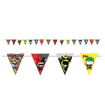 Justice League Flag Pennant Banner 3.3M