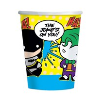 DC Batman vs Joker 250ml Paper Cups 8pk