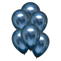 """Satin Luxe Azure 11"""" Latex Balloons 6pk"""