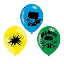 DC Batman vs Joker Latex Balloons 6pk