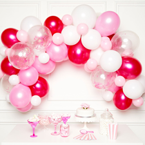 Pink DIY Latex Balloon Garland