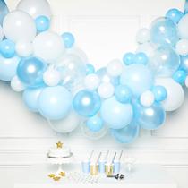 Blue DIY Latex Balloon Garland Kit