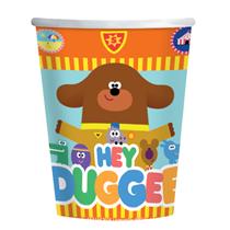 Hey Duggee 250ml Paper Cups 8pk