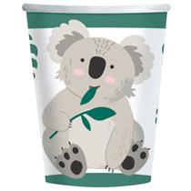 Koala 250ml Paper Cups 8pk