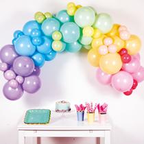 Pastel Rainbow DIY Latex Balloon Garland