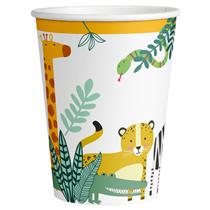 Get Wild 250ml Paper Cups