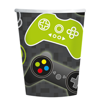 Level Up 250ml Paper Cups 8pk