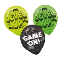 """Level Up Game On 11"""" Latex Balloons 6pk"""