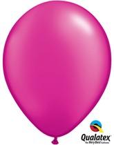 """11"""" Magenta Pearl Balloons - 25pk"""
